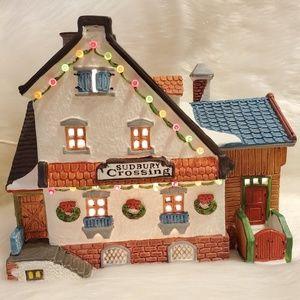 Hearthside Village Porcelain Lighted House